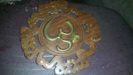 Very old and antique brass and wood from india