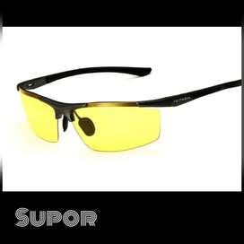 Kacamata Original Sport Night Vision anti Silau kaca mata Nyetir Malam