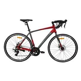 Sepeda RoadBike Element FRC 38 2x8 Speed (2 pilihan warna)