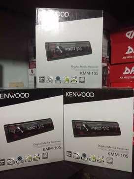 Head unit kenwood kmm 105 digital media player flac bass boost