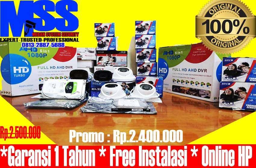 Paket CCTV Premium Medan 0