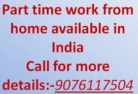 Weekly payment available excellent home based part time job
