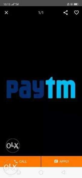 immidated required 30 male/female Tata,paytm
