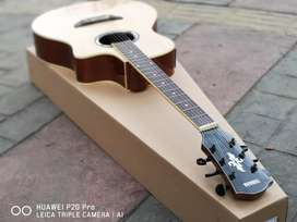 GItar Akustik Natural wood slim
