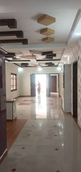 for sale double story house bkl 13 johar khi