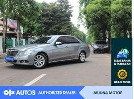 [OLXAutos] Mercedes Benz E-200 2010 2.0 A/T Bensin #Arjuna Motor