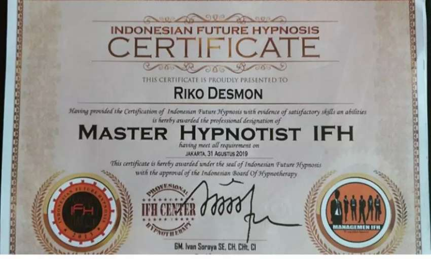 Pelatihan Hipnotis Online 0