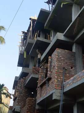 1BHK New Construction Flat Sale in Baguiati, Lift Facility Available.