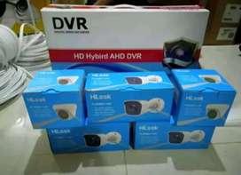 Pemasangan instalasi kamera CCTV di Antapani Bandung