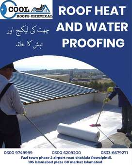 Roofs Heat Proofing and Roofs Waterproofing