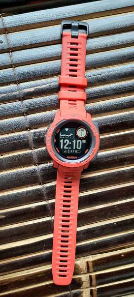Jual Jam Garmin Instinct Orange