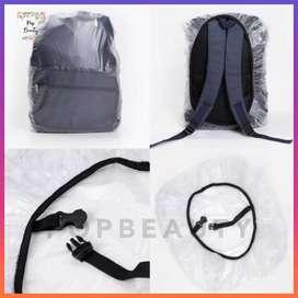 Cover Bag Bening / Raincoat / Jas Hujan Tas