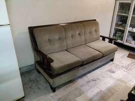 Teak wood 5 seater Sofa set
