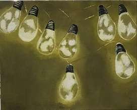 Painting bulbs