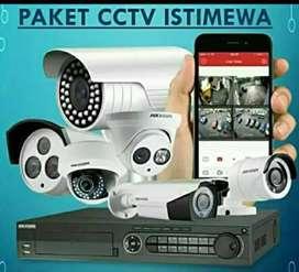 Cctv paket komplit\\ 2 megapixel// online via smartphone