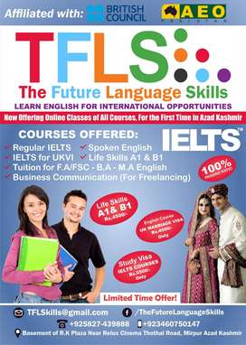 The Future Language Skills ( IELTS Courses )