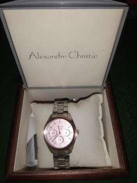 Jam tangan cewek alexandre cristie ori ya
