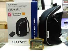 Baterai/battery dan tas camcorder SONY ORIGINAL