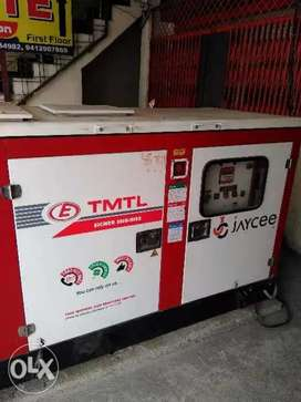 15 Kw Eicher Generator in Good condition for sale.