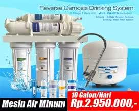 Mesin air RO untuk keluarga anda
