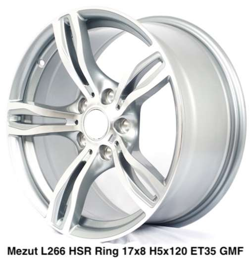 HSR Mezut Ring 16x7 hole 4x100 et 35 0