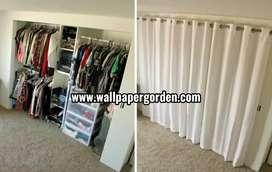 Gorden modern pintu lemari murah