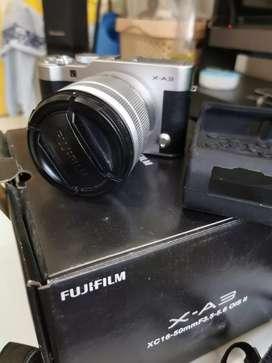 Jual kamera mirrorless fuji XA3