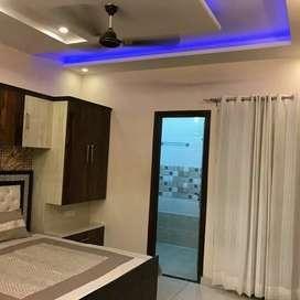 Spacious 3bhk Fully furnished flat At Zirakpur