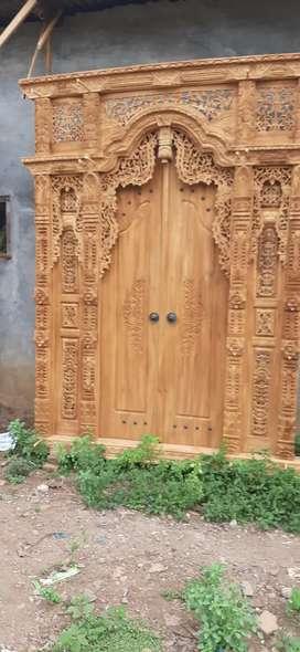 ulya cuci gudang pintu gebyok gapuro jendela rumah masjid musholla