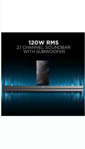 BOAT SOUNDBAR 120W unboxed piece