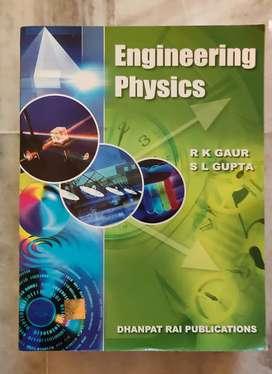 Engineering textbooks (Physics & chemistry)