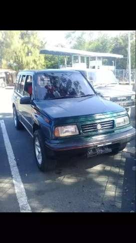 Suzuki Escudo Hijau Metalik, Th 1996, harga nego