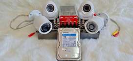 PAKET CCTV SAMSUNG 4 KAMERA ORIGINAL
