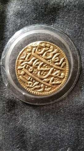 Mughal coin.