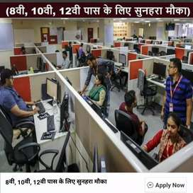 Data Entry, Stock Management, File Management, Computer Operator,