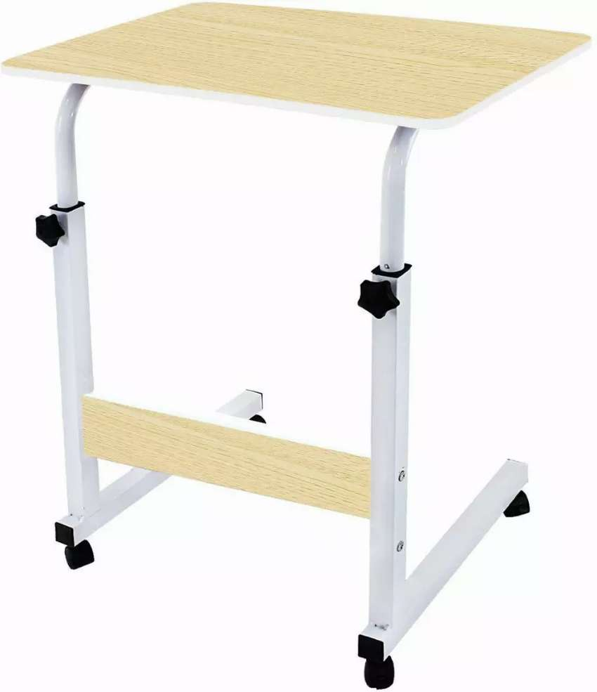 Title : adjustable height laptop table