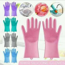 Magical silicone kitchen gloves with free delivery
