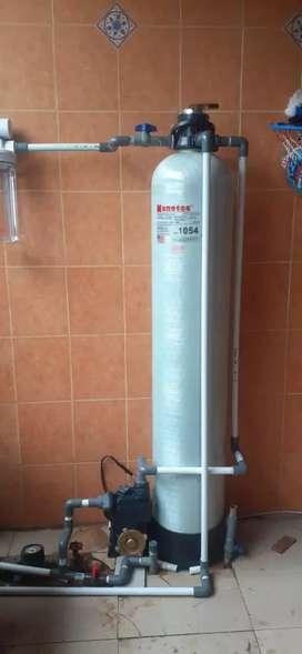 JUAL tabung filter air penjernih sumur bor PDAM atasi bau keruh karat.