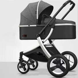 Prom + stroller + cot