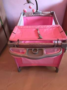 Play Pen Portable Travel Baby Bed Cot