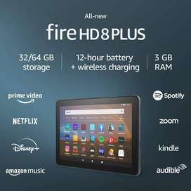 Amazon Fire HD 8 PLus kindle android tablet 32gb
