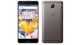 OnePlus 3T 64 GB Gunmetal Like New With Bill/Charger Rs 7295 Only