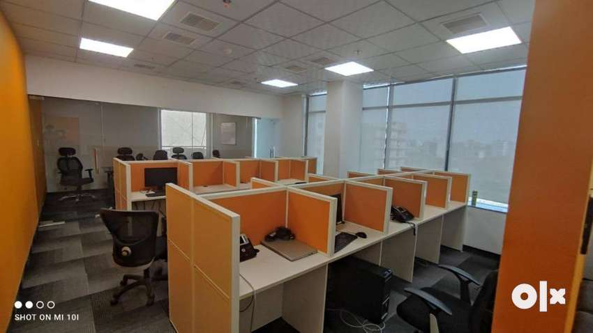 20 Seater 2 Cabin Fully Furnished Office For Rent At LIG Colony