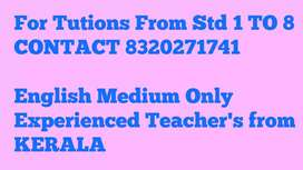 Tuitions only English medium