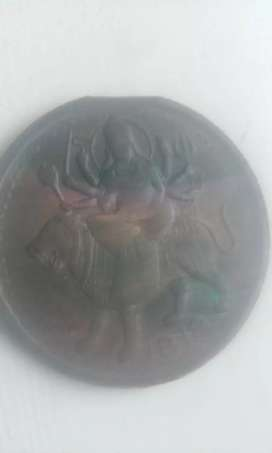 MAA AMBE 201 years old one anna coin