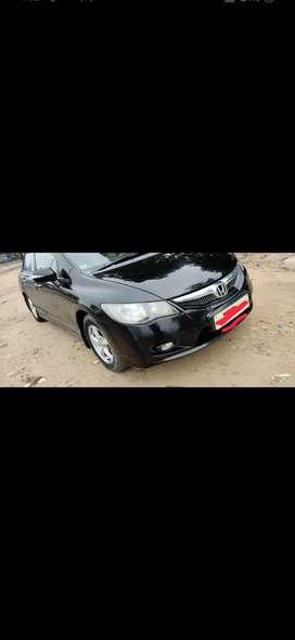 Honda Civic black colour , automatic