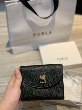 Furla Sleek Wallet in Black New!