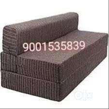 brand new brown comfortable sofa cum bed
