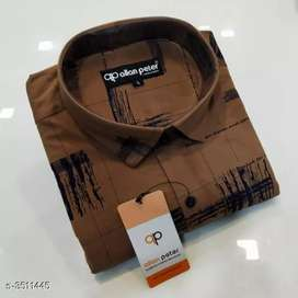 Cod/free home delivery/men's trending cotton shirts