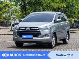 [OLX Autos] Toyota Innova 2016 Reborn 2.0 G M/T Abu-abu #Power Auto ID